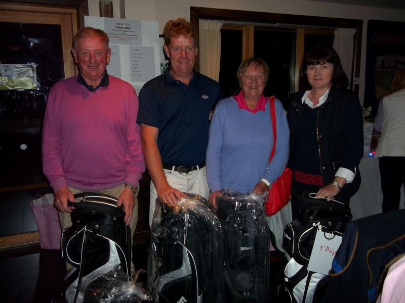 The Winning Team Broderick's and Daly's from Gort Golf Club